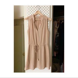 Aritzia silk mini dress